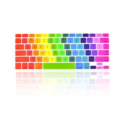 mac keyboard cover rainbow - 9