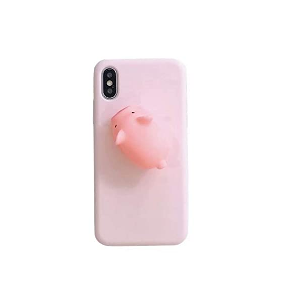 quality design c5872 d5252 Amazon.com: Fusicase for iPhone XR Case Squishy 3D Cute Kawaii ...