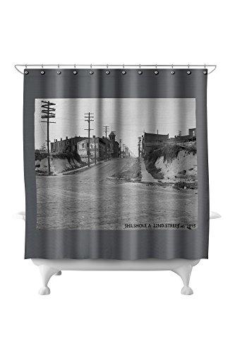 Ballard - Seattle, WA - Shilshole and 22nd Avenue (71x74 Polyester Shower Curtain) ()