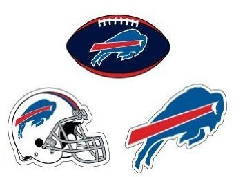 Buffalo Banner (Buffalo Bills Stickers and Banners ( 4 Count ) …)