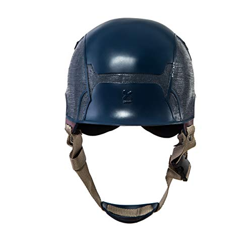 Traveller Captain America 3 Civil War Helmet Movie Cosplay Props for Adult, Navy Blue, one size by Traveller (Image #4)