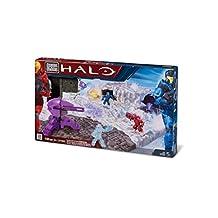 Halo Mega Bloks Exclusive Set #97068 Versus Snowbound Battlescape