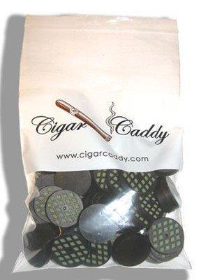 CIGAR CADDY SMALL DISC HUMIDIFIER, ROUND 50/BAG - QI