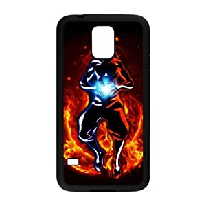 Classic Cartoon Movie Series&Avatar:The Last Airbender Background Case Cover for SamSung Galaxy S5 - Hard PC Back&4 sides TPU Protective Case Shell-Perfect as gift
