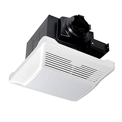 meite MB14L-90 Recessed Exhaust Ventilation Fan with Fluorescent Light, Quiet Motor, 1 Sones, 90 CFM Bath Fan