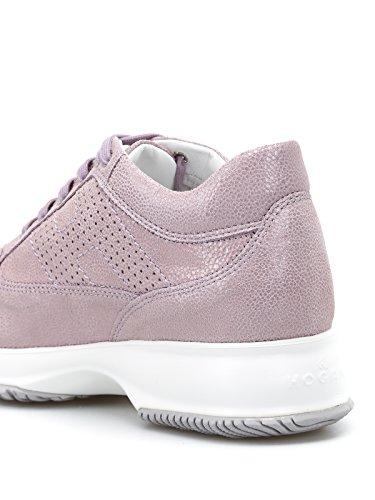 Donna Pelle Hogan Sneakers Rosa HXW00N00E30I6FL809 1qx0wU