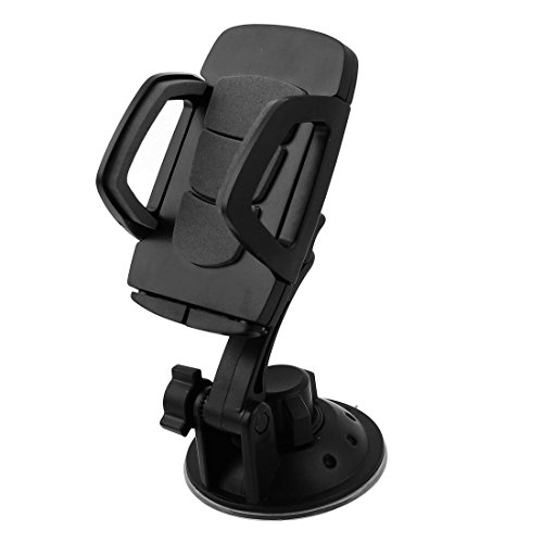 DealMux Car Suction Cup Rotary PDA GPS Bracket Holder