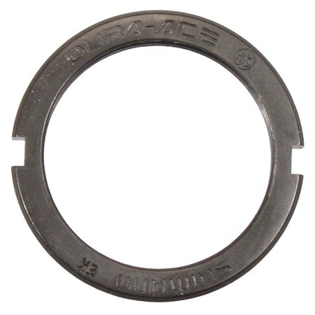 Shimano Dura Ace Track Lock Ring (Black) Shimano Track Cogs