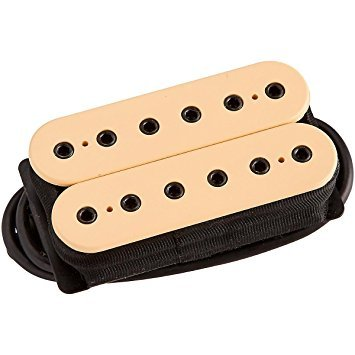DiMarzio DP159FCR Evolution Bridge Humbucker Pickup F-spaced Cream w/Bonus RIS Picks (x3) (Evolution Cream)