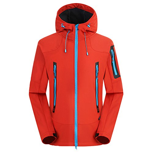 Mountaineering Outdoor Soft Coat Men Wool Tourismwaterproof Libero Orange Jacket shell Zhhlaixing Tempo qpwE5SHS