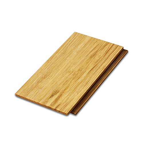 """Cali Bamboo - Solid Wide Click Bamboo Flooring, Natural Light Brown - Sample Size 8"""" L x 5 1/8"""" W x 9/16"""" H"""