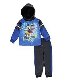 "Paw Patrol Little Boys' Toddler ""Pawsome Moves"" 2-Piece Fleece Sweatsuit"