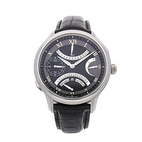 Maurice Lacroix Gents Masterpiece - Maurice Lacroix Masterpiece Mechanical (Hand-Winding) Black