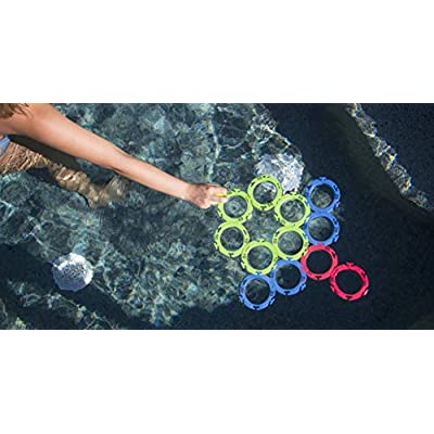 Water Sports Itza Floaty Pong Backyard and Pool Game: Toys & Games