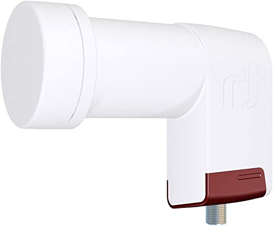 Inverto IDLR-SINL40-EXTND-OPP - convertidores low noise block (lnb) (F, 120 mA, 4 cm, 132g, Color blanco)