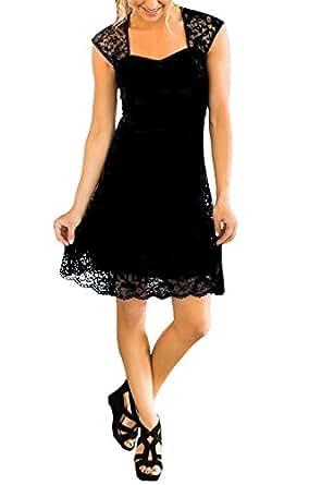 Lilyla Womens Country Knee Length Bridesmaid Dresses Full