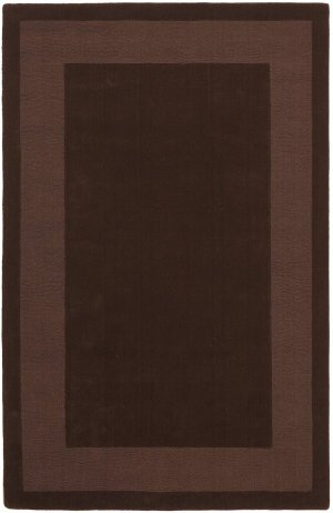 Transitions Cut and Loop Border Runner Rug, 2.5-Feet by 8-Feet, Chocolate 8' Runner Transitions Runner