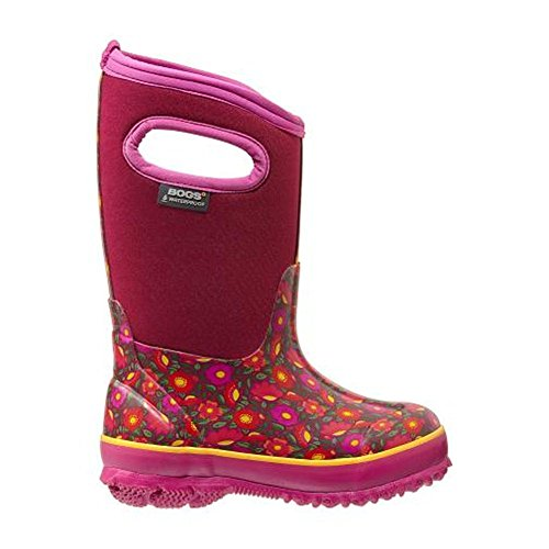 Bogs Classic Sweet Pea Waterproof Insulated Rain Boot ,  Ber