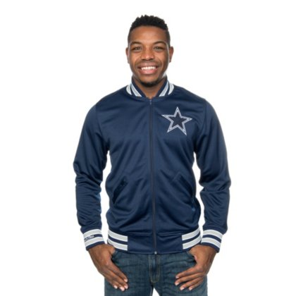 Dallas Cowboys Mitchell & Ness Division Track (Dallas Cowboys Track Jacket)