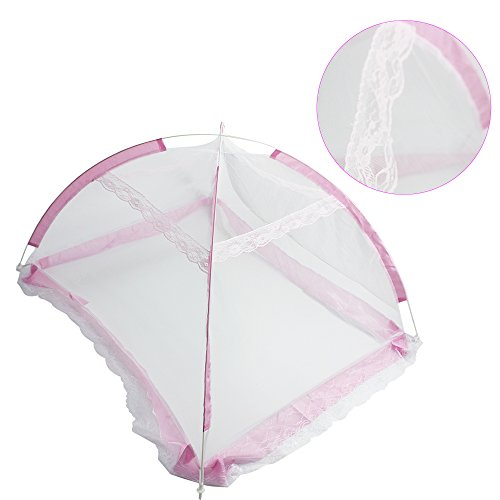 sealive-new-safe-foldable-mosquito-net-infant-toddler-bed-canopy-dome-hanging-net-soft-lightproof-cr