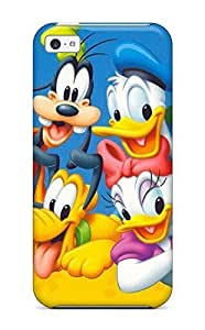 linJUN FENGFashion Tpu Case For iphone 5/5s- Donald Duck Of Naruto Defender Case Cover