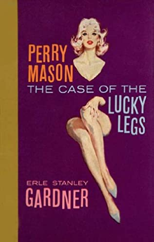 book cover of The Case of the Lucky Legs