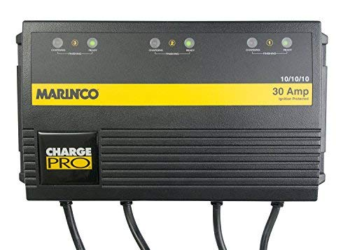 Marinco ChargePro On-Board Battery Marine 3 Bank Charger