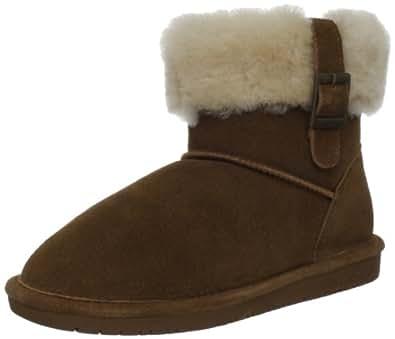Bearpaw Women's Abby Snow Boot (8 B(M) US/39 EUR, Hickory)