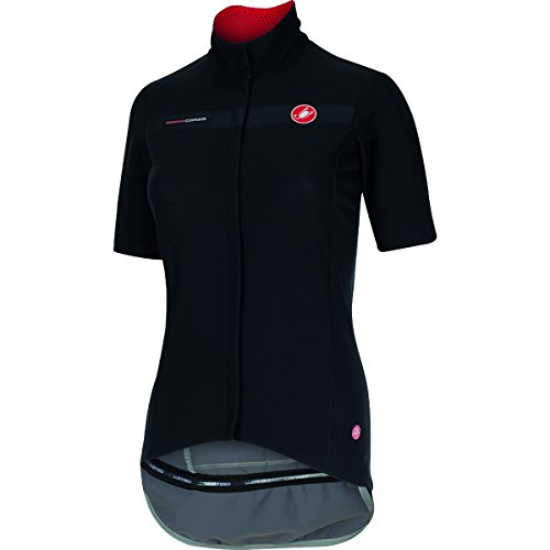 [해외] Castelli Gabba Jersey - Short-Sleeve - Women's Black, S by Castelli