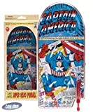 Captain America Pinball Game Marvel Comics