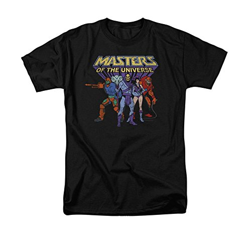 Sons of Gotham - MASTERS OF THE UNIVERSE Team Of Villains Adult Regular Fit T-Shirt