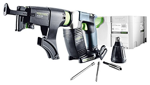 Cordless Collated Screwdriver (Festool 201675 DWC 18-4500 BASIC Cordless 18V Drywall Screwdriver)