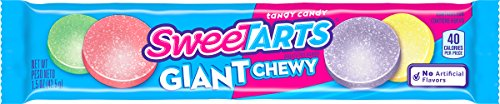 SweeTARTS Giant Chewy Candy 1.5 Ounce Packets,(Pack of 36) -