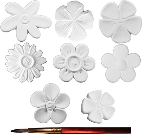 the-mini-garden-flower-collection-and-paintbrush-set-of-8-paint-your-own-ceramic-keepsake