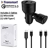 Dual Quick Charge 3 USB Car Charger for Samsung
