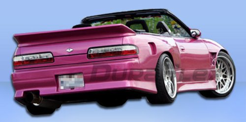 Duraflex Replacement for 1989-1994 Nissan 240SX S13 2DR V-Speed Rear Bumper Cover - 1 ()