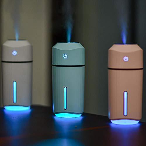 TaoRan Humidificateur pulvérisateur à hydratation embarqué Mini atmosphère colorée veilleuse humidificateur intérieur… 2