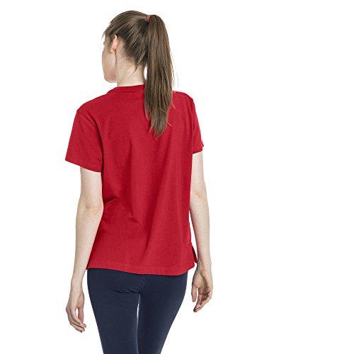Femme Rouge Top Red Logo ribbon Classics Puma tw7WPqRW