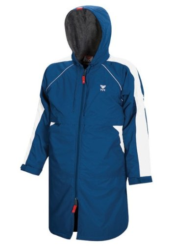 TYR 428WASP2YL Youth Alliance Parka, Royal, Large