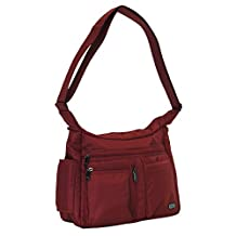 Lug Women's Double Dutch Cross Body Bag, Cardinal Red, One Size