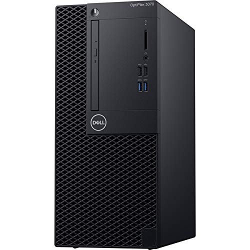 Dell OptiPlex 3070 Desktop Computer – Intel Core i5-9500 – 8GB RAM – 1TB HDD – Tower