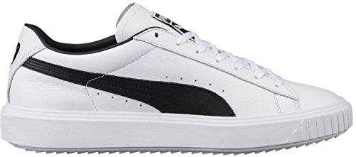 Puma Hombres Breaker Sneaker Puma White-puma Black