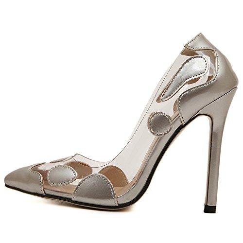 Sexy summer a bene scarpe superficiale i summer Sexy trasparente donna spillo 40   22db9f