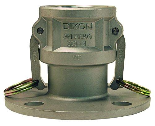 Flange Coupler, 2 In, 250 psi, Aluminum by Dixon Valve & Coupling