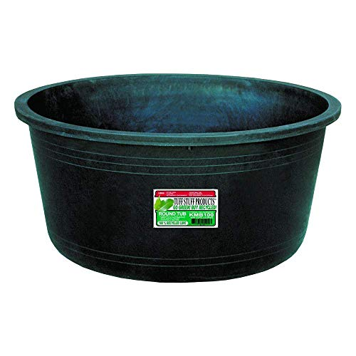 Tuff Stuff Products KMB100 Circular Tub, 64-Gallon