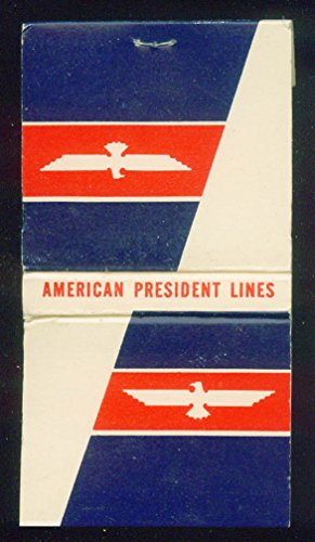 American President Lines steamship matchbook 30-sticks unused