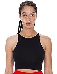 Women's Cotton Spandex Sleeveless Crop Top