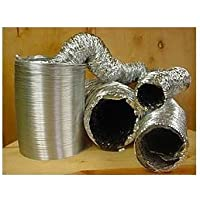 12 Inch Non-Insulated Flex Duct, 25 Foot by NGW