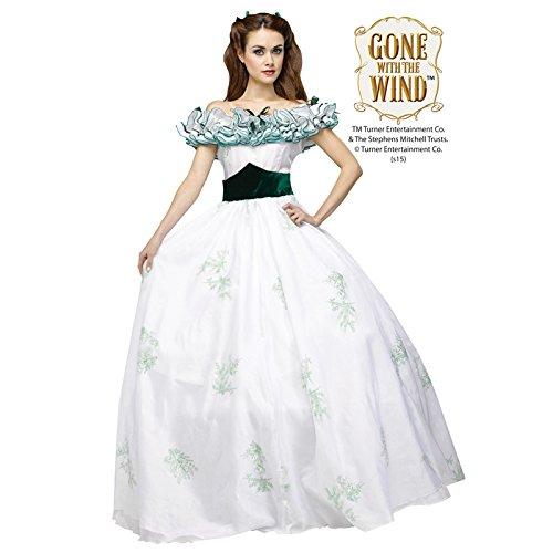 Fun World Women's Scarlett O'Hara Twelve Oaks Gown