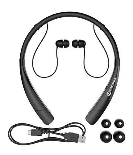5a278901b1a ZekPro Bluetooth Headphones With Mic [Long Lasting Battery Life] - Premium  Quality Wireless Stereo